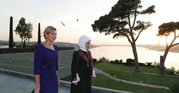 Emine Erdoğan, Ukrayna Devlet Başkanı'nın Eşi Olena Zelenska İle Görüştü