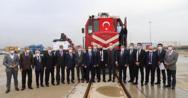 Eskişehir, Demiryoluyla Limanlara Ve Dünyaya Bağlanacak