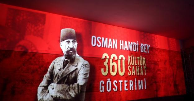 """""""Osman Hamdi Bey Dijital Sergisi"""" Sanatseverlerle Buluştu"""