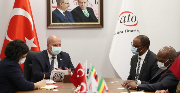 Zimbabve'den Yatırım ve Ticaret İçin ATO Üyelerine Davet