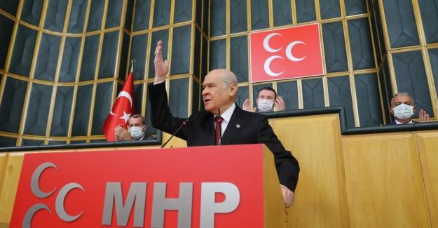 """Bahçeli'den Kılıçdaroğlu'na: """"Ülkücüden Mafya, Mafyadan Da Ülkücü Olmaz"""""""