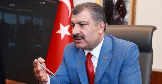 """Bakan Koca: """"Bugün Tespit Edilen 5.532 Yeni Hasta Var"""""""