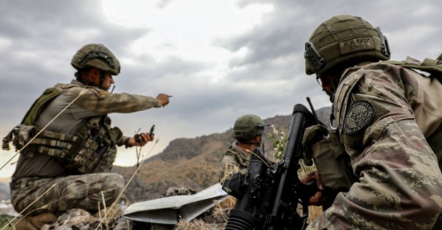 Barış Pınarı Bölgesine Saldırı Girişiminde Bulunan 17 Terörist Etkisiz Hale Getirildi
