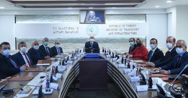 Ulaştırma ve Altyapı Bakanlığı'nda Trabzon Toplantısı