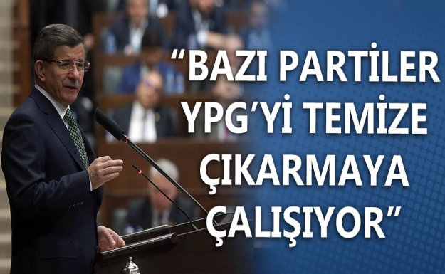 Başbakan Davutoğlu, AK Parti Grup Toplantısında Konuştu