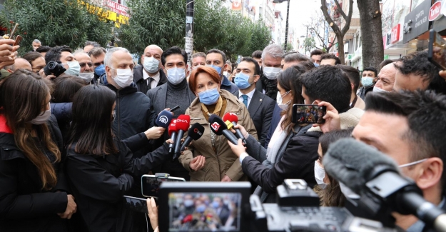 Akşener: Sayın Erdoğan AK Parti Genel Başkanlığından Sıyrılıp Hepimizin Cumhurbaşkanı Olmayı İstemedi