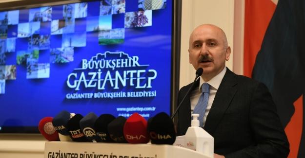 """""""Gaziantep Kent Merkezi İle İki Sanayi Bölgesini Birbirine Bağlayarak Şehir İçi Trafiğine Nefes Aldıracağız"""""""