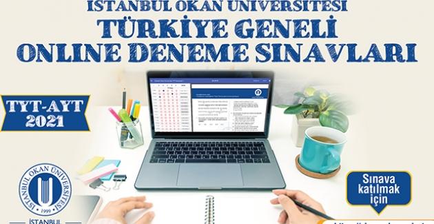 Okan Üniversitesi'nden Aday Öğrencilere Online Deneme Sınavı
