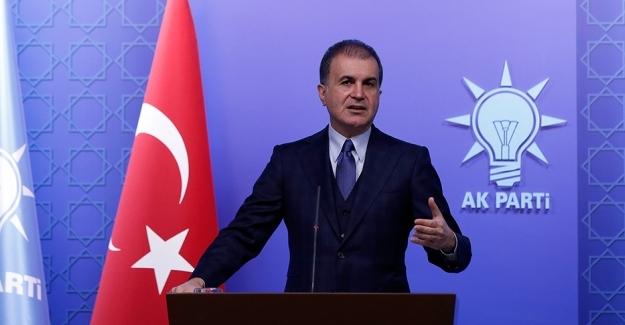 """AK Parti Sözcüsü Çelik: """"13 Masum Vatandaşımızın Öldürülmesi Tüm İnsanlığa Saldırıdır"""""""