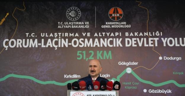 """Bakan Karaismailoğlu: """"Kırkdilim Tünelleri'nde Sona Gelindi"""""""