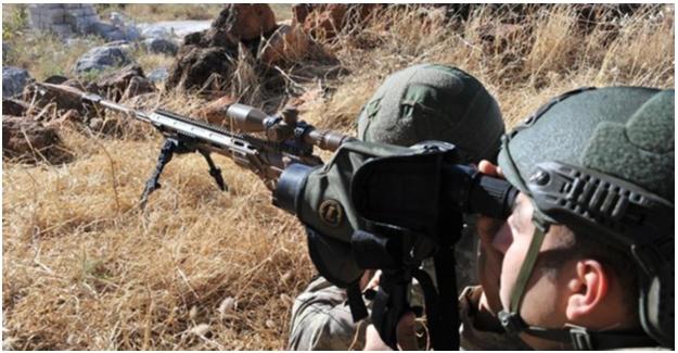 Barış Pınarı Bölgesine Saldırı Ve Sızma Girişiminde Bulunan 4 Terörist Etkisiz Hale Getirildi