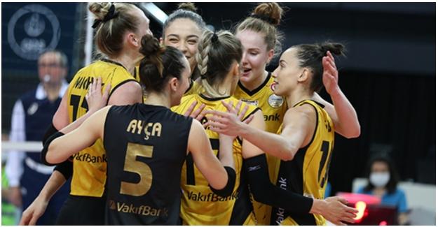 VakıfBank Yarı Finalde