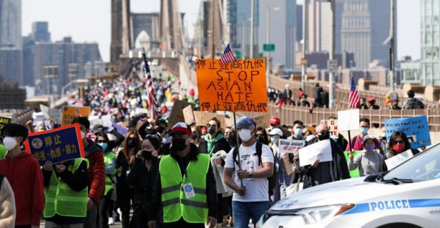 ABD'de 200 Azınlık Örgütü, Irkçılığa Karşı Protesto Eylemi Yaptı
