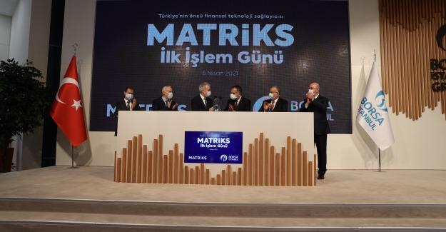 Matriks, Borsa İstanbul'da İşlem Görmeye Başladı