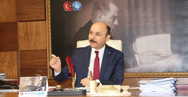 """Türk Eğitim-Sen Genel Başkanı Geylan: """"Anayasa Mahkemesi Haksızlığa Onay Veremez!"""""""