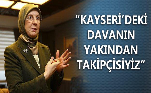 Bakan Ramazanoğlu : Kayseri'deki Olayı Yakından Takip Ediyoruz