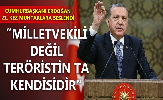 Cumhurbaşkanı Erdoğan 21. Muhtarlar Toplantısında Konuştu