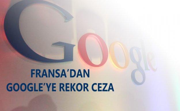 Fransa'dan Google'a Rekor Vergi Cezası