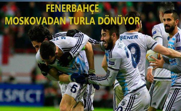 Fenerbahçe Moskova'dan Turla Dönüyor