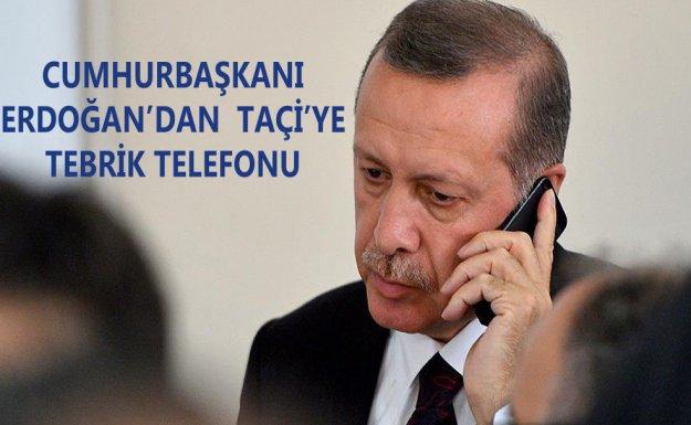 Erdoğan, Kosova'nın Yeni Cumhurbaşkanı Taçi'yi Tebrik Etti