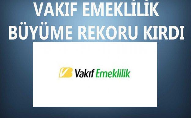 Vakıf Emeklilik , Mehmet Bostan Döneminde Büyüme Rekoru Kırdı