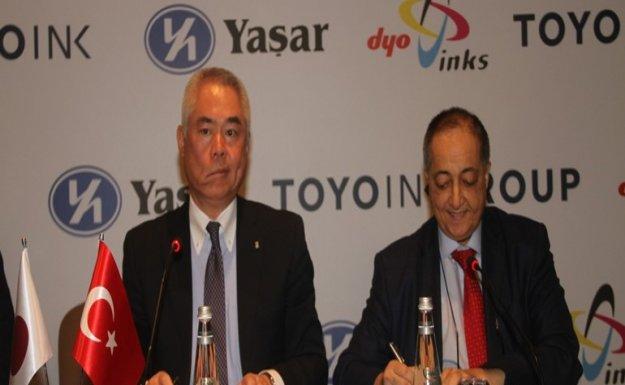 Yaşar Holding ile Toyo Ink Group Ortaklığı Tamamlandı