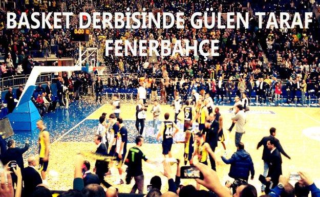 Basket Derbisinde Gülen Taraf Fenerbahçe