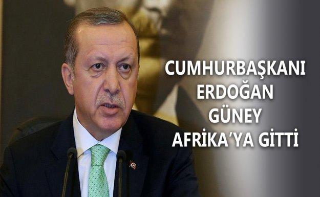 Cumhurbaşkanı Erdoğan Batı Afrika'ya Gitti