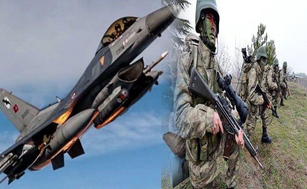 Jetler Havadan, Asker-Polis Karadan Vuruyor