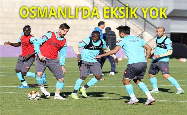 Osmanlıspor Tam Kadro Antrenmanda