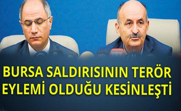 İçişleri Ve Sağlık Bakanı Bursa'da Ortak Basın Açıklaması Yaptılar