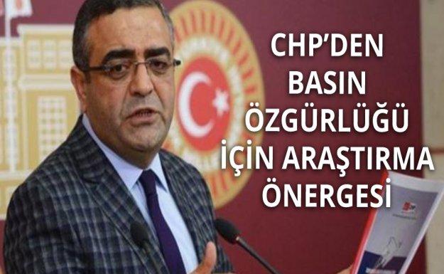 CHP Basın Özgürlüğü İçin Harekete Geçti