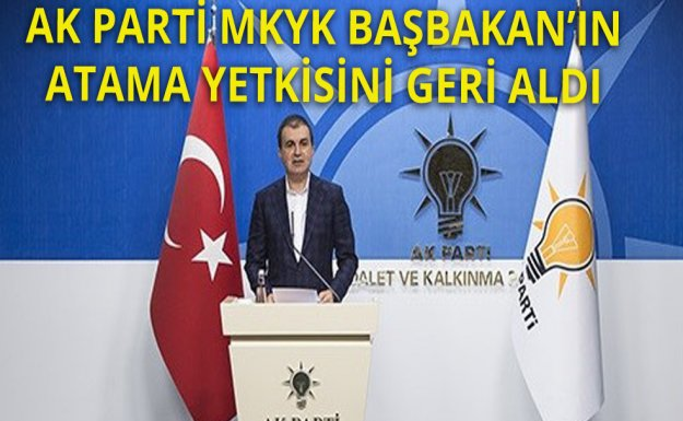 Davutoğlu'nun Yetkisi MKYK'ya Alındı