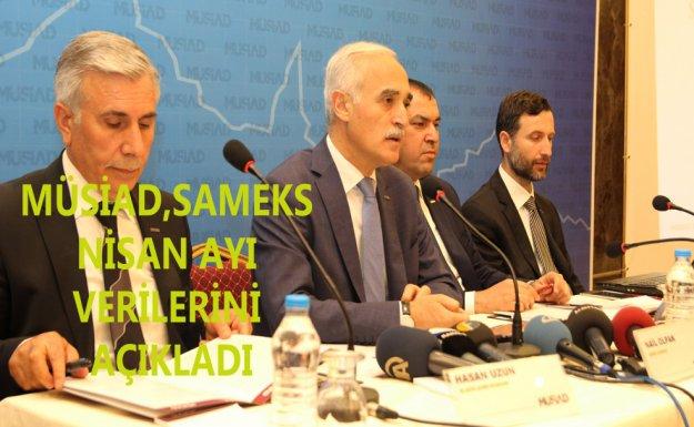 SAMEKS Nisan Ayı Verileri Elazığ'da Açıklandı