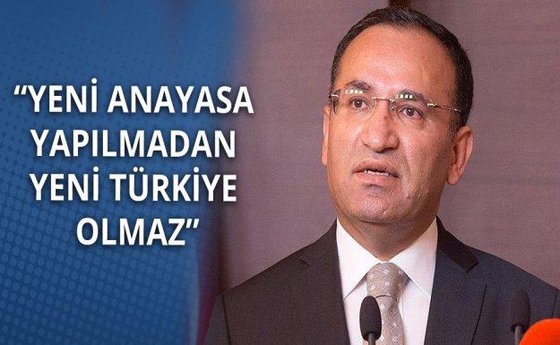 Bozdağ: Yeni Anayasa Yapılmadan Yeni Türkiye Olmaz