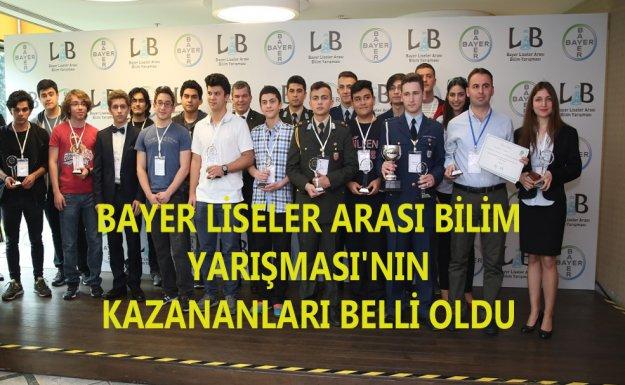 Bayer Liseler Arası Bilim Yarışması 2016 Sonuçlandı