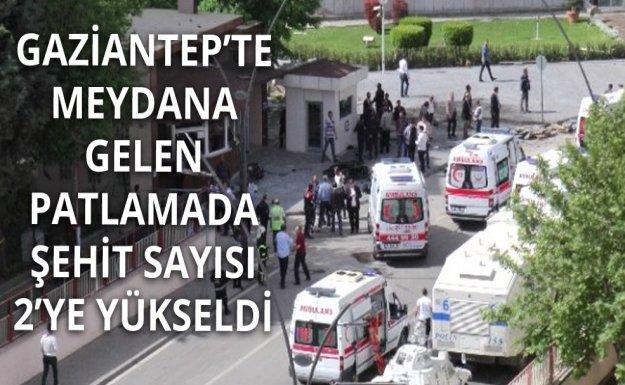 Gaziantep'te Şehit Sayısı 2'ye Yükseldi