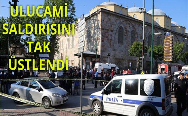Bursa daki Patlamayı TAK üstlendi