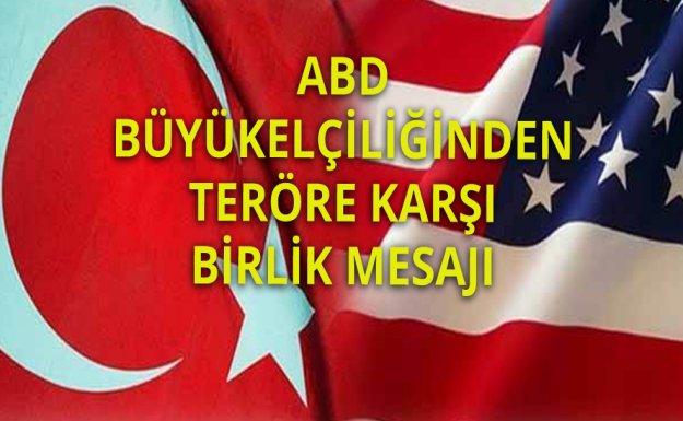 ABD: Türkiye İle Beraber Çalışma Taahhüdümüzü Bir Kez Daha Teyit Ediyoruz