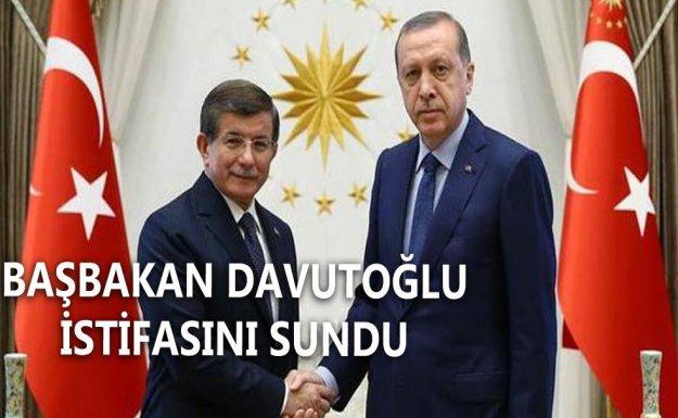 Cumhurbaşkanı Erdoğan, Davutoğlu'nun İstifasını Kabul Etti