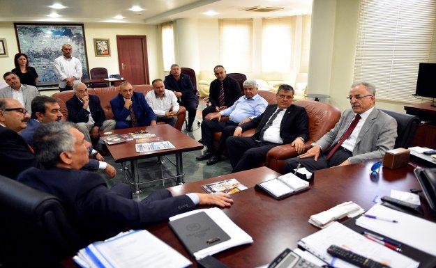 Murat Karayalçın'dan Başkan Karalar'a Ziyaret