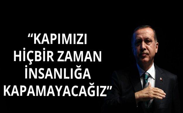 Erdoğan Zirve'de Konuştu