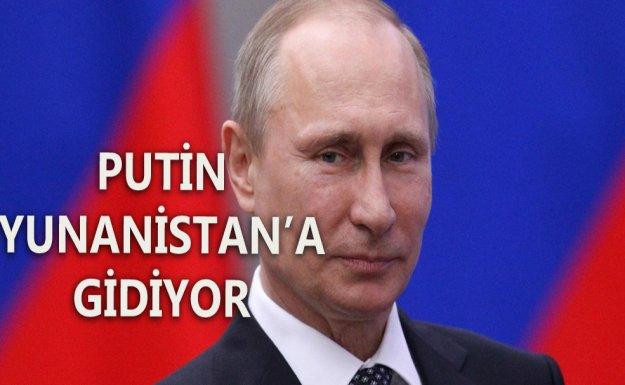Putin 27 Mayıs'ta Yunanistan'ı Ziyaret Edecek