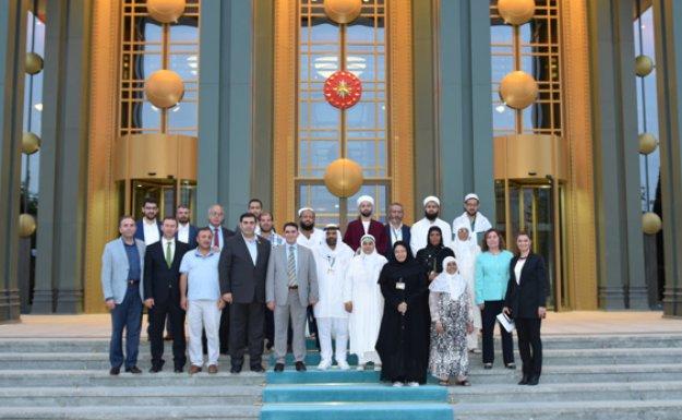 Roman Hacılar Cumhurbaşkanlığını Ziyaret Etti