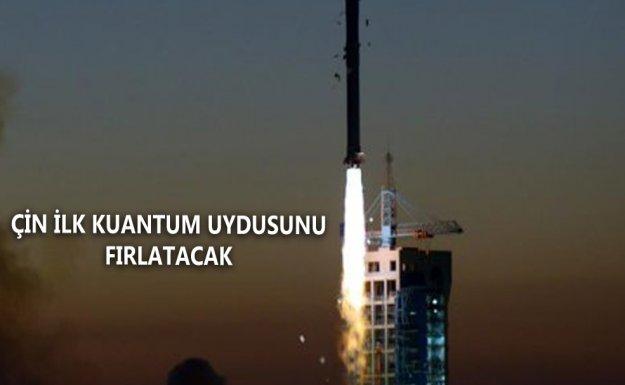 Çin İlk Kuantum Uydusunu Temmuz'da Fırlatacak