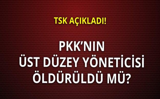 Üst Düzey PKK Yöneticisi Öldürüldü Mü?