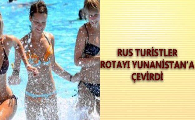 Yunanisten'a Giden Rus Turistler Yüzde 500 Arttı