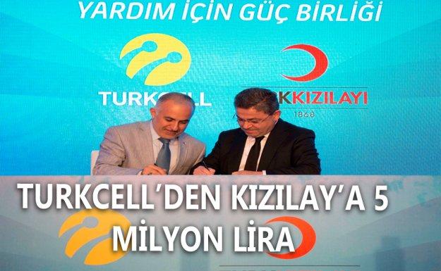 """Turkcell  ve Kızılay'dan """"Yardım için Güç Birliği"""""""