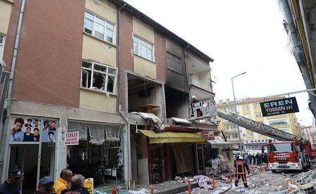 Polatlı'da doğalgaz patlaması: 5 yaralı