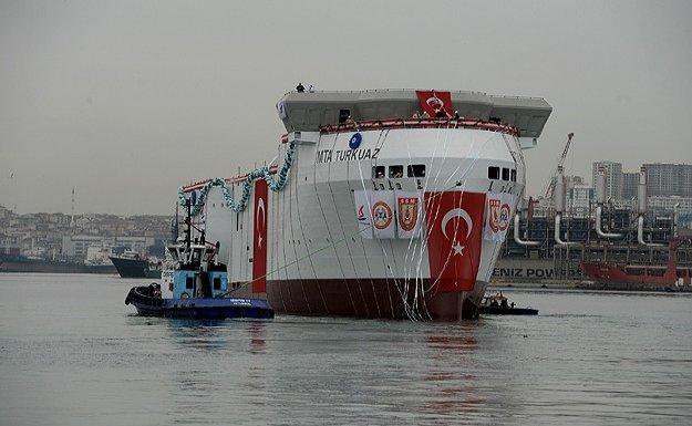 Yerli sismik araştırma gemisi